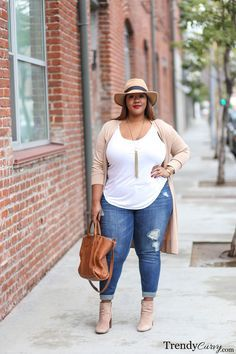 Plus size weekend casual - full figure fashion clothes for the.
