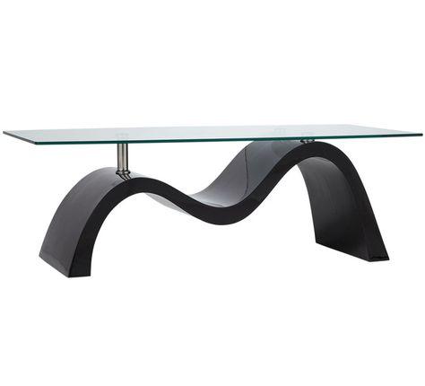 Wave Coffee Table Fantastic Furniture 199 Narrow