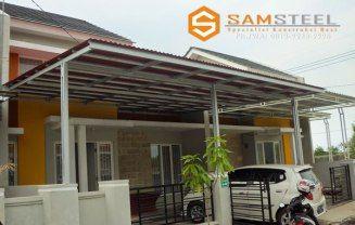 Rangka Atap Baja Ringan Untuk Teras Semarang Carport Murah