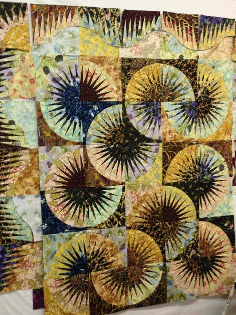Japanese Fan, Quiltworx.com, Made by Linda Gibson Mathis