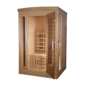 Therasauna Thera Classic 1 Person 6 Theramitter Ceramic Heaters Hemlock Wood Softtouch Control Far Infrared Sauna Tc3636 Infrared Sauna Tall Cabinet Storage Kitchen Bath
