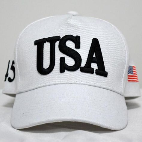 USA 45 Trump Baseball Hat  5f1224761821