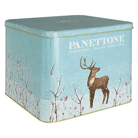 Chiostro Di Saronno Panettone In Tin 3kg Christmas In
