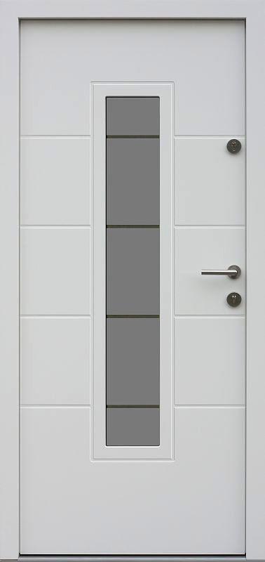 Drzwi Zewnetrzne Nowoczesne 466 17 Ds11 Biale White Doors Door Design Doors