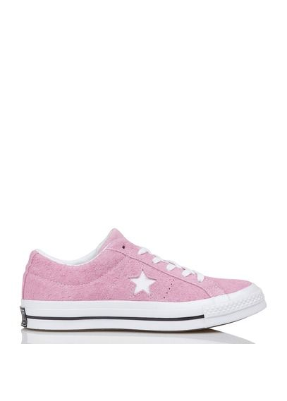 CONVERSE Converse One Star en daim Rose 1 | sneakers en 2019