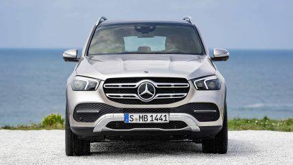 New 2019 Mercedes Benz Gle Suv Front Mercedes Suv Mercedes