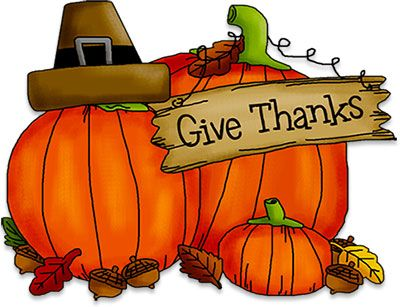 Thanksgiving Thankful Transparent Thanks Give Clipart Animated Fall Pumpkins Cliparts Pilgrims Acorns Free Thanksgiving Thanksgiving Clip Art Animated Clipart