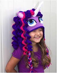 my little pony crochet hat pattern   http://briabby.com