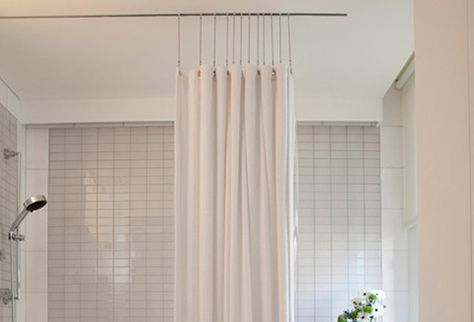 Ceiling Mounted Shower Curtain Track Shower Curtain Track