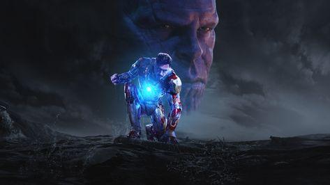 Iron Man & Thanos_Movie Poster