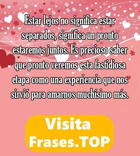 Mensajes Y Frases De Amor A Distancia Cortas Y Bonitas