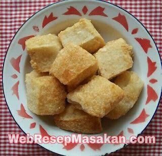 Jadah Ketan Goreng Jadah Makanan Resep Masakan Indonesia Resep Masakan