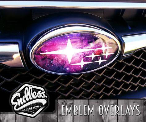 Subaru Galaxy Emblem Overlays Endless Autosalon Subaru Wrx Sti Wrx Subaru Wrx