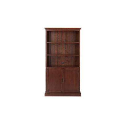 Smokey Brown Wood 3 Shelf