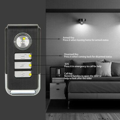 7 99 Wireless Remote Control Magnetic Sensor Home Door Window Security Burglar Alarm Home Doors Window Security Windows And Doors