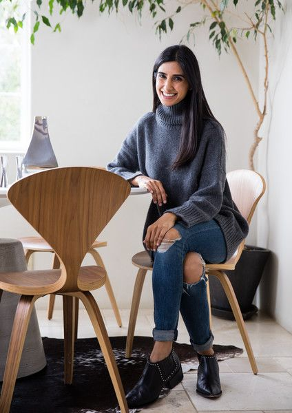 Shilpa Shah, Co-Founder - How Cuyana's Two Founders Styled Their Homes (Using One Designer) - Photos