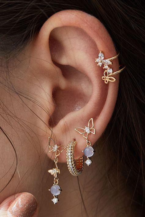 1 pair of black fake plug in different sizes earring fake plugs helix ear piercing stainless steel men ear stud earrings men jewerly - Custom Jewelry Ideas Ear Jewelry, Cute Jewelry, Body Jewelry, Jewelry Accessories, Jewelry Box, Jewelry Armoire, Jewlery, Jewelry Ideas, Jewelry Stores