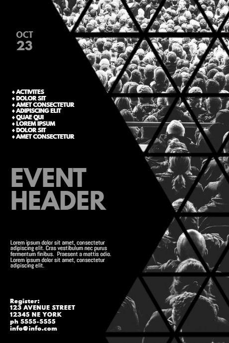 Multipurpose Event Flyer Design Template