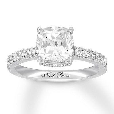 Neil Lane Diamond Engagement Ring 2 1 3 Carats Tw 14k Gold With Images Neil Lane Engagement Rings Diamond Wedding Rings