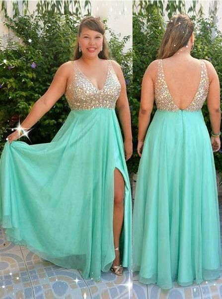 Pin on Plus Size Prom Dresses
