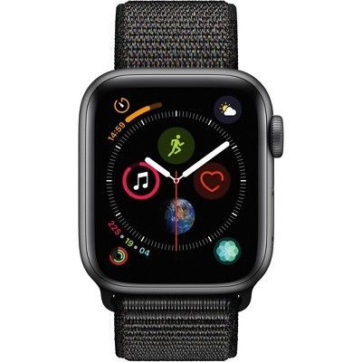 Apple Watch Series 4 Gps 40mm Silver Aluminum Case With Sport Band White Gps Mm Apple With Images Apple Watch Apple Watch Series Cool Things To Buy