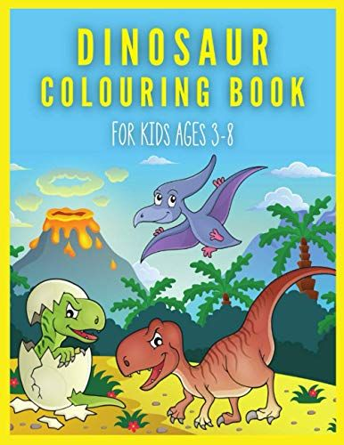 Dinosaur Colouring Book For Kids Ages 3 8 Big Dinosaurs Crayola Coloring Books Gift For Boys 3 8 Year Olds Coloring Books Gifts Coloring Books Book Gifts