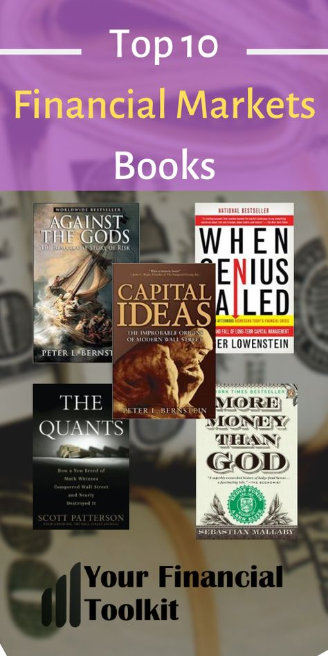 Top 10 Books On Financial Markets