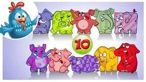 Count To 10 Song Lottie Dottie Chicken Nursery Rhymes For Kids