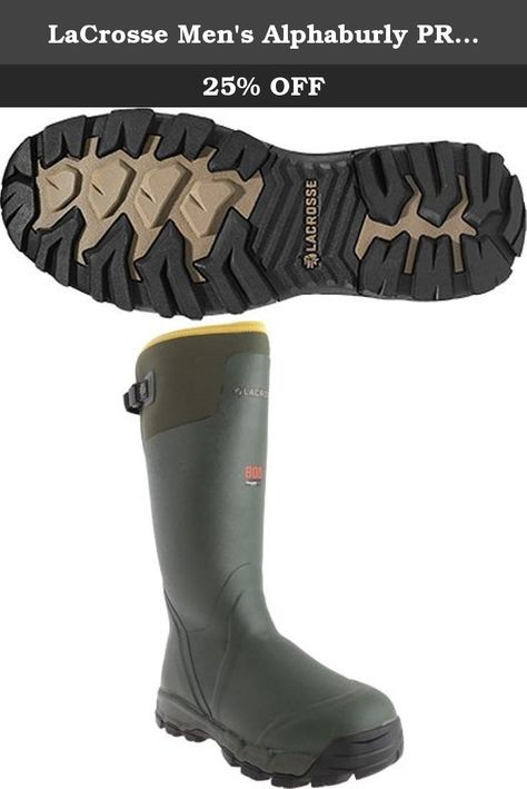 4a2156b296a LaCrosse Men s Alphaburly PRO 800G Hunting Boot