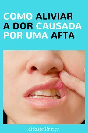 como curar una afta bucal rapido