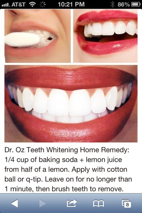 Teeth White: Dr. Oz