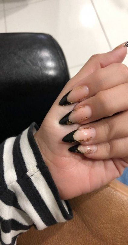 22 Ideas Nails Stiletto Instagram Black For 2019 Nails Black
