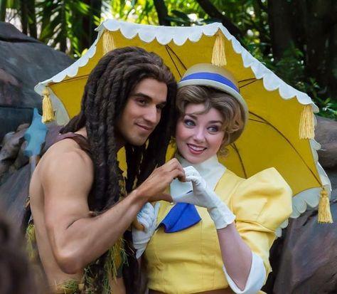 Disney Cosplay Tarzan and Jane -
