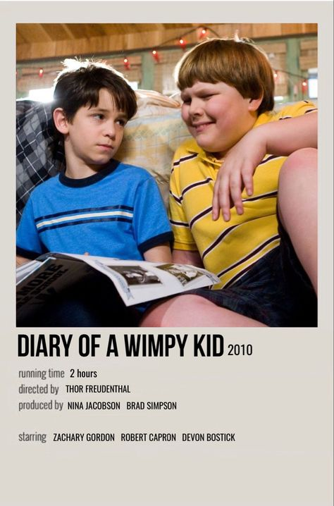 diary of a wimpy kid movie poster