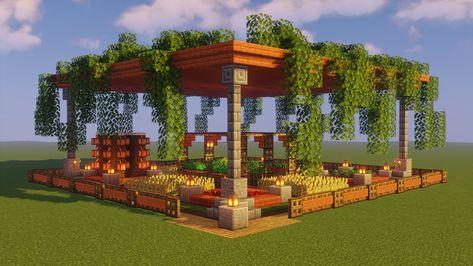 Villa Minecraft, Minecraft Mods, Plans Minecraft, Architecture Minecraft, Minecraft Cottage, Cute Minecraft Houses, Minecraft Mansion, Minecraft Structures, Minecraft City