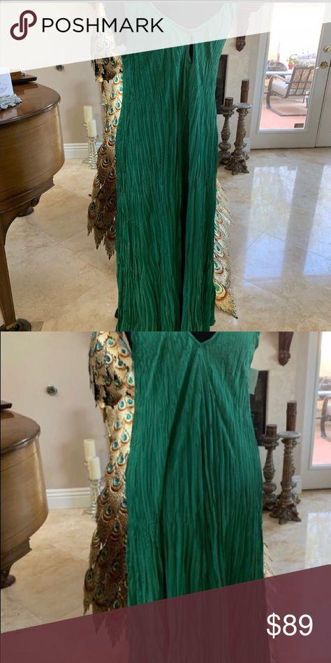 Womens Dress New Gorgeous Green Summer Dress size M Dresses