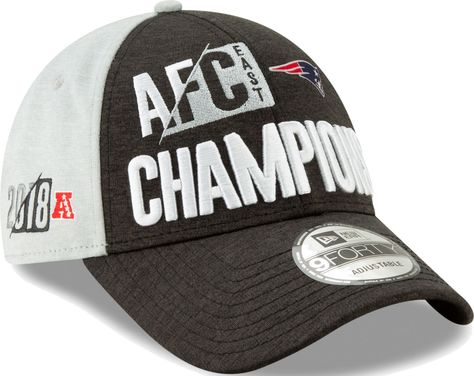 2013f5e7f01d6 New Era Men s New England AFC East Division Champions 9Forty Adjustable Hat