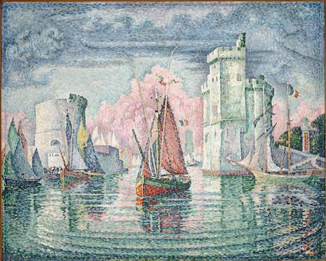 Paul Signac Entree Du Port De La Rochelle Images D Art