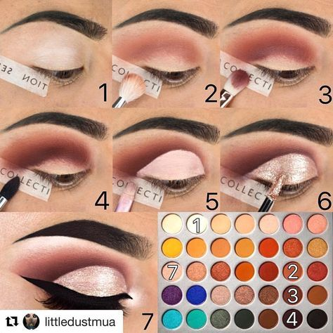18 Color Pearl Glitter Eye Shadow Powder Palette Matt Eyeshadow Cosmetic Makeup 2019 New Brochas Maquillaje Profesional Hot #7 Skillful Manufacture Eye Shadow