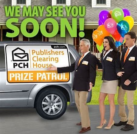 Image result for PCH Prize Patrol and I hope you do come see