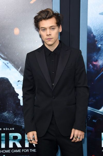 Harry Styles attends the 'DUNKIRK' New York Premiere.