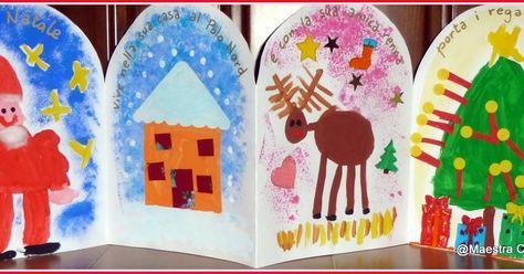 Babbo Natale Vive Al Polo Nord.Babbo Natale Vive Nella Sua Casa Al Polo Nord E Con La Sua Amica Renna Porta I Rega Artigianato Natalizio Artigianato Bambini Artigianato Di Natale