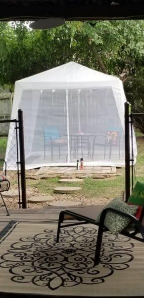 10 X10 Trapezoid White Screen Tent With Enclosed Mesh Side Wall Screen Tent Tent Party Tents For Sale