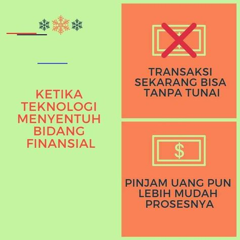 Yang terjadi saat ini ketika teknologi menyentuh sektor finansial  #life #mahasiswa #fintech #facebook #millennials #jakarta #tangerang #bandung #indonesia #comingsoon #finance #business #networkingevent #experience #marketingdigital #socialmedia #startuplife #podcast #podcastindonesia #bisnis #marketing #teknologi #inspiration #quotes #networking #leadership #anakmuda #umkm #startup #startupindonesia<br>