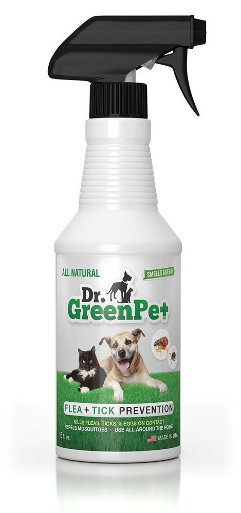 Dr Greenpet All Natural Flea Tick Prevention And Control Spray For Dogs Cats Unbranded Tick Prevention Tick Treatment For Dogs Flea And Tick
