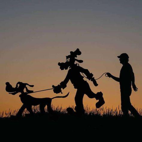 Silhouette Art by John Marshall aka Sunset Selfies