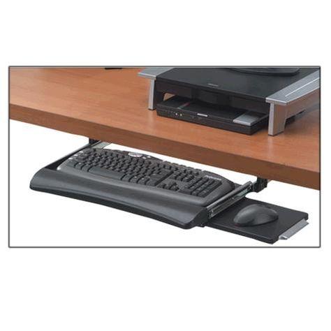 Pin Em Desk With Keyboard Trays