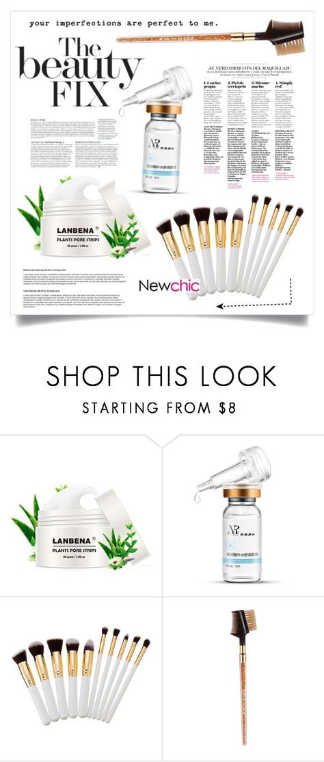 """""""NEWCHIC #39"""" by virgamaleva ❤ liked on Polyvore featuring beauty and Anja"""