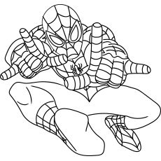 50 Wonderful Spiderman Coloring Pages Your Toddler Will Love Spiderman Coloring Coloring Pages Cute Coloring Pages