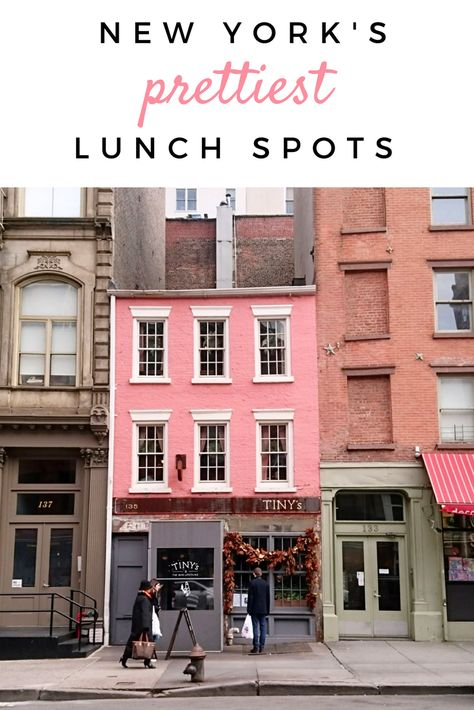 New York City's Prettiest Restaurants